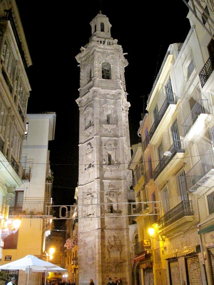 torre de santa catalina valencia