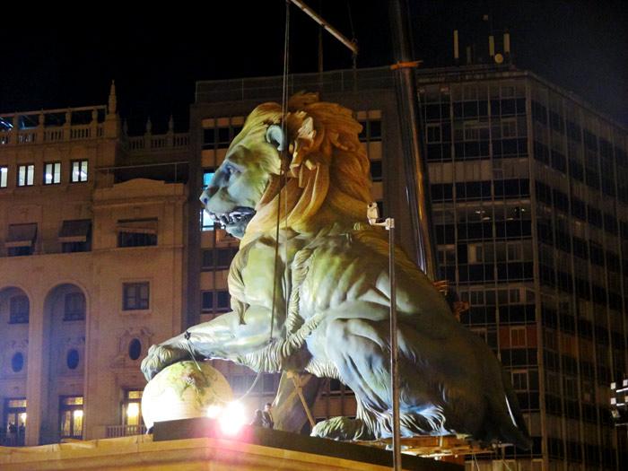 Falla Plaza del Ayuntamiento.