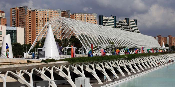 navidad en ciudad artes y ciencias