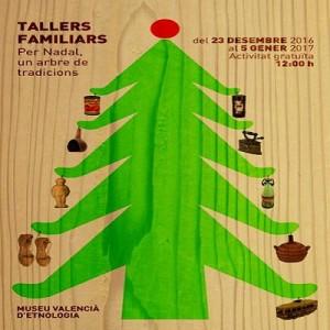 beneficencia-taller-arbol-navidad per nadal, arbre tradicions