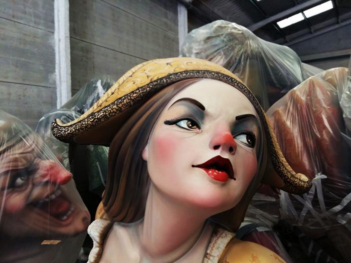 entrevista artista fallero paco torres plaza pilar 2017