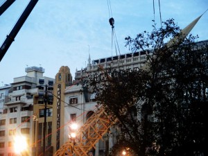 Plantá-fallas 2017-Plaza del Ayuntamiento