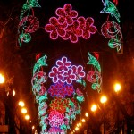 luces fallas valencia 2017