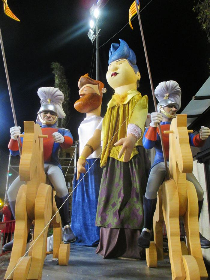 plantà fallas 2017 plaza ayuntamiento