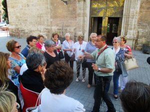 ruta puerto valencia iglesia santa maria del mar visitas guiadas adzucats