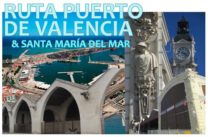 ruta puerto valencia iglesia santa maria del mar rutas guiadas valencia adzucats