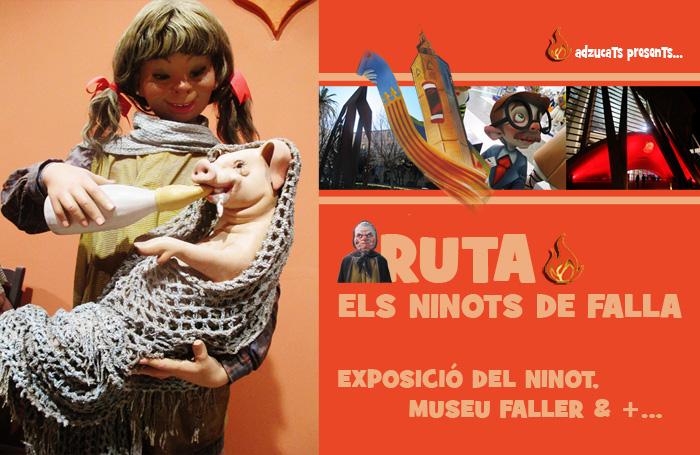 rutas fallas adzucats rutas guiadas valencia visitas erxposicion ninot museo fallero