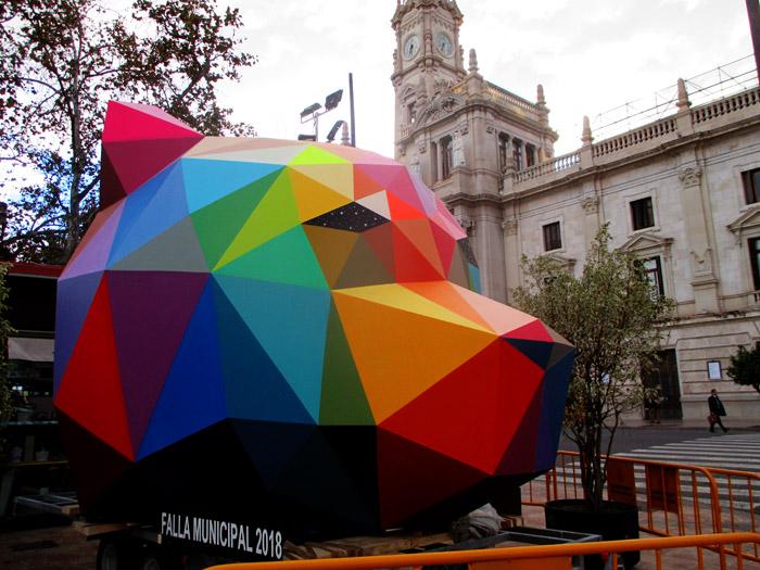 Planta-fallas 2018- Plaza ayuntamiento adzucats