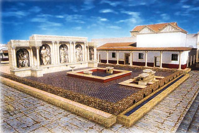 Ninfeo ciudad Valentia romana