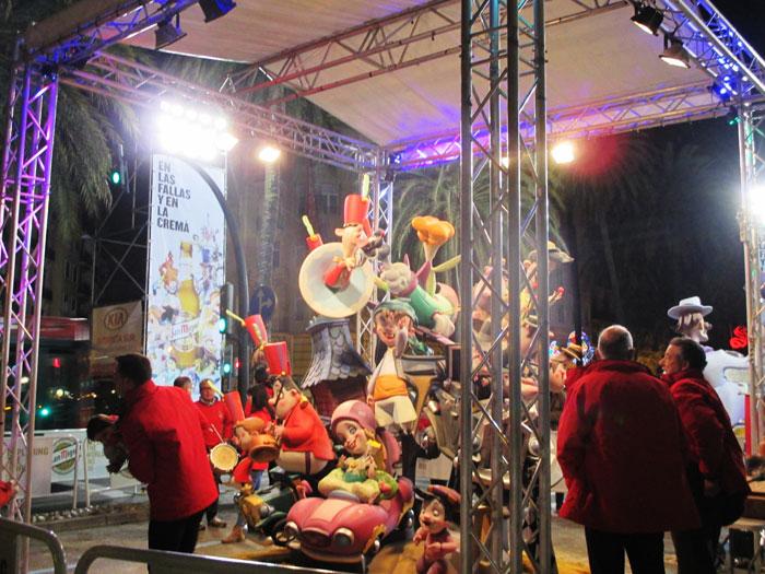 Plantá fallas infantiles 2017-Reino de Valencia-Duque de Calabria
