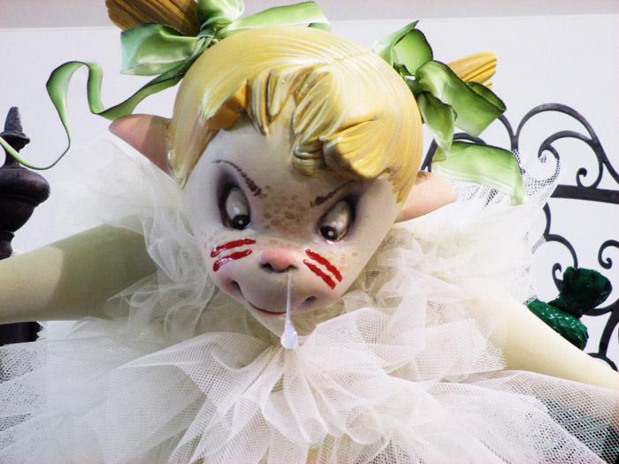 ninot indultat infantil 2017 duque de gaeta