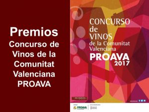 La Mostra XXIX De Vinos, Cavas y Licores y XXVII de Alimentos Tradicionales de la Comunidad Valenciana