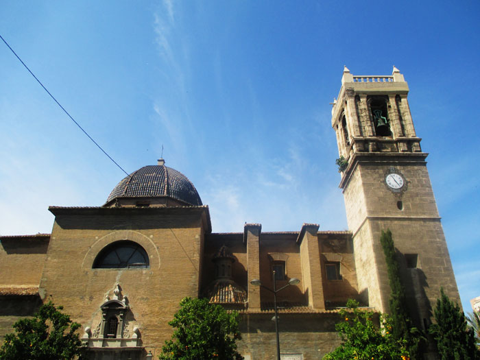 ruta puerto valencia iglesia santa maria visitas guiadas adzucats