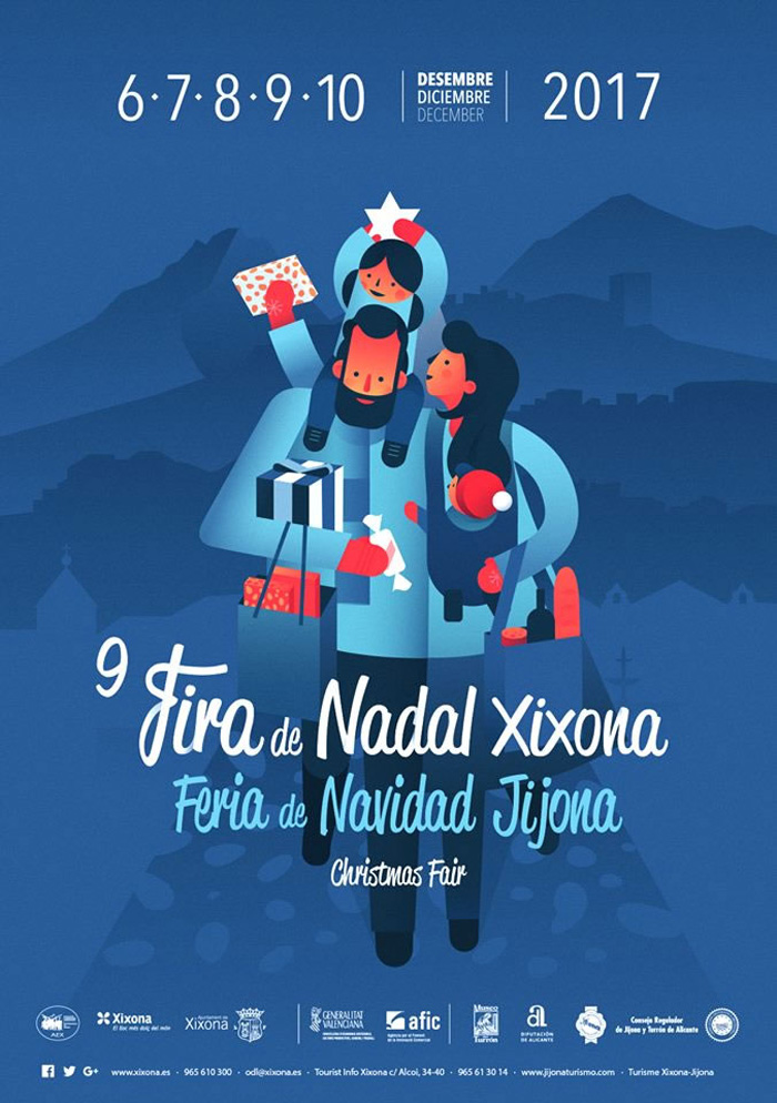 feria-navidad-jijona-2017 programa actividades