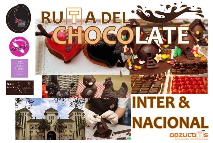 ruta-chocolate valencia rutas guiadas adzucats